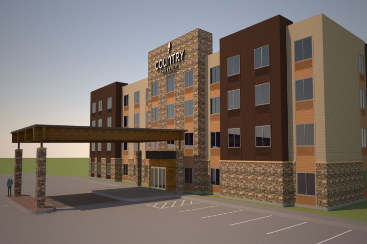 Construction begins on Country Inn & Suites By Carlson in Indianola, Iowa